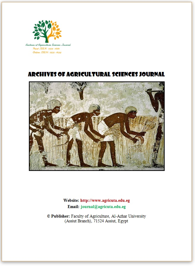 Archives of Agriculture Sciences Journal